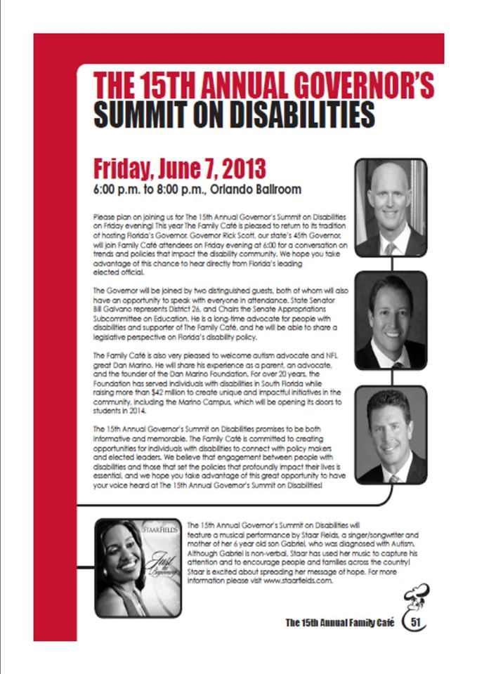 Governor's Disability Summit